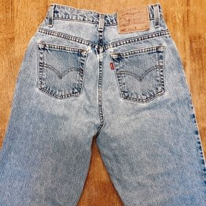 Levi's Vintage 550 High Waist Tapered Jeans